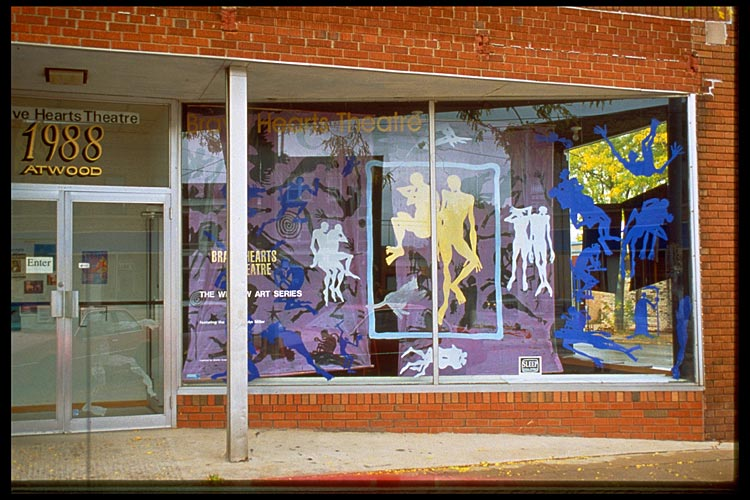 Sleep, 3-D Window Installation, 1994