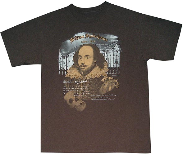 Shakespeare, Three Color Print, © Wildwood Productions